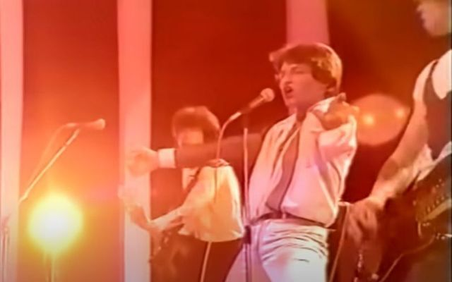 Irish band U2 first performed on television over forty years ago