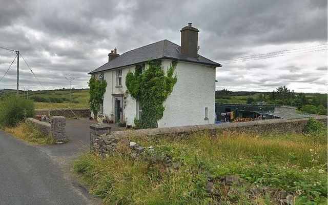 Famine era old barracks house for sale in the heart of County Clare