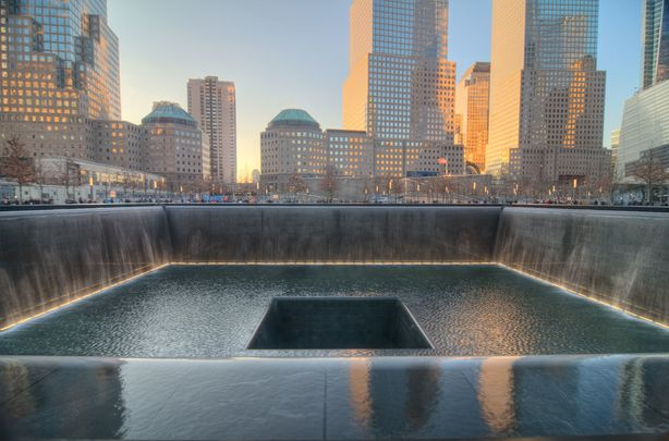 9/11 Memorial at the World Trade Center.