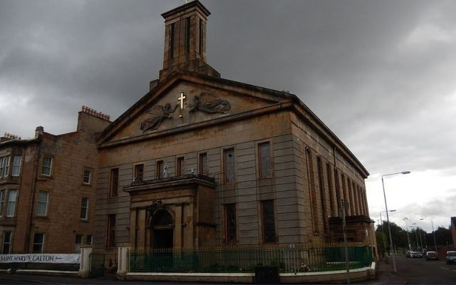 St. Mary\'s Church in Calton was the site of the first meeting of Celtic Football Club.
