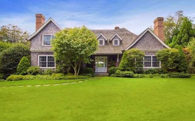 Kelly\'s mansion at 67 Huntting Lane, East Hampton.