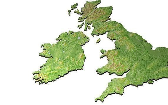 Should the map of Ireland include the six counties of Northern Ireland?