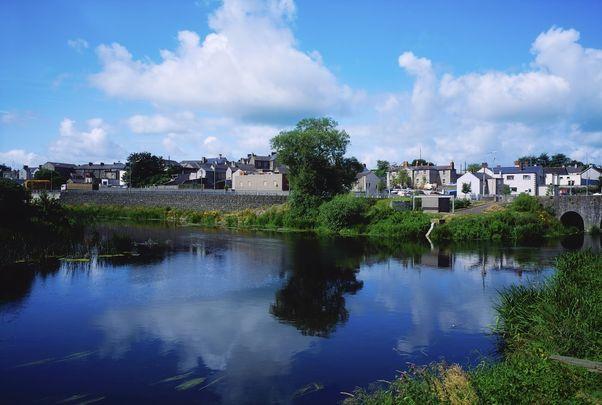 Navan town, County Meath.