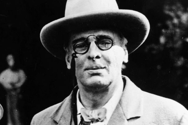 William Butler Yeats: Irish poet, dramatist, prose writer and one of the foremost figures of 20th-century literature.