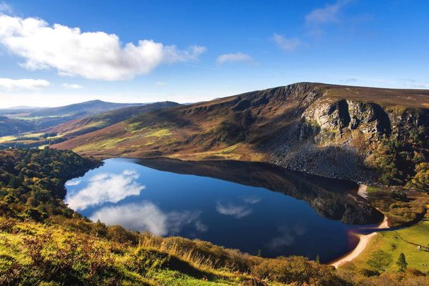 Lough Tay or The Guinness Lake, Co Wicklow.