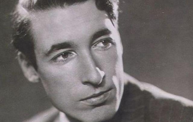 Belfast-born poet Louis MacNeice.