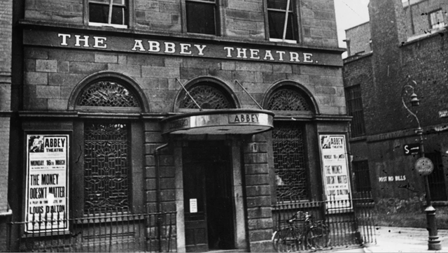 The Abbey Theatre in Dublin before the fire of 1951.