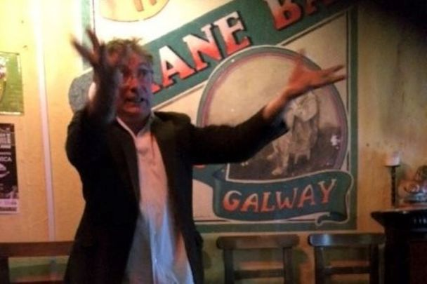 Rab Fulton at The Crane Bar in Galway
