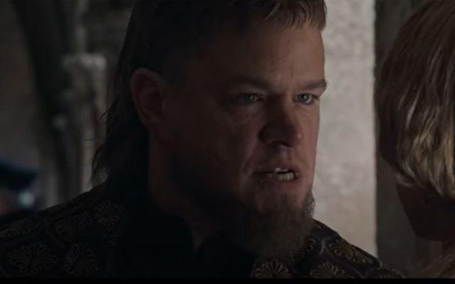 "The trailer for Matt Damon's ""Last Duel"" filmed in Ireland has been released"