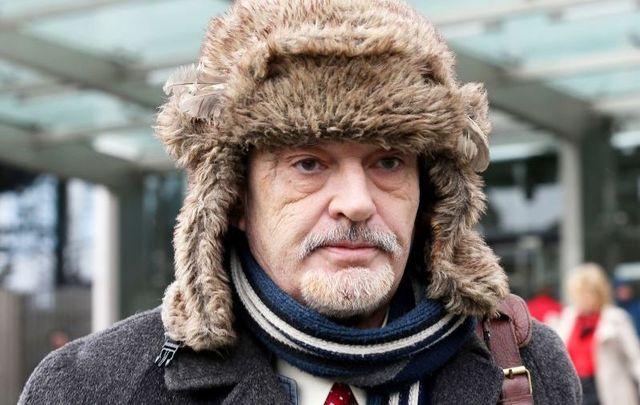 February 10, 2020: Ian           Bailey leaving the High Court in Dublin.