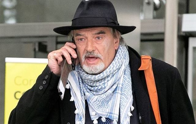 Ian Bailey leaving the Criminal Courts of Justice in Dublin in 2020.