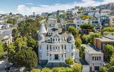 Irishman's mansion, Nobby Clarke's Folly, for sale in San Fran