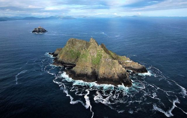 Skellig Michael off the coast of Co Kerry.