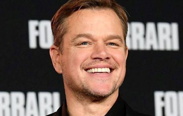 Ireland\'s most famous resident in 2020, Matt Damon.
