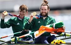 Ireland's Olympic rowing heroes return home after taking gold and bronze in Tokyo