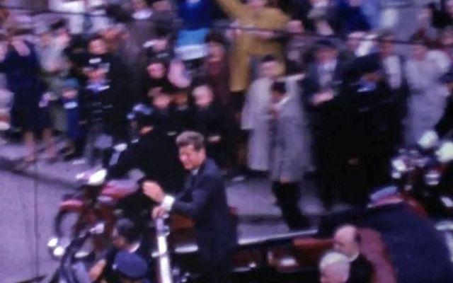 The actual unseen new video of JFK in Ireland is released