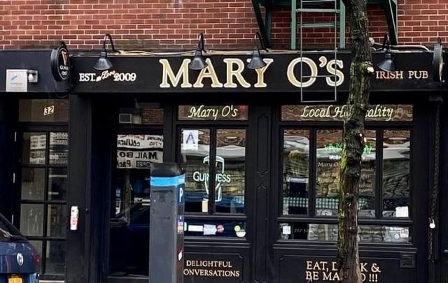 Mary O\'s at 32 Avenue A in downtown New York City.