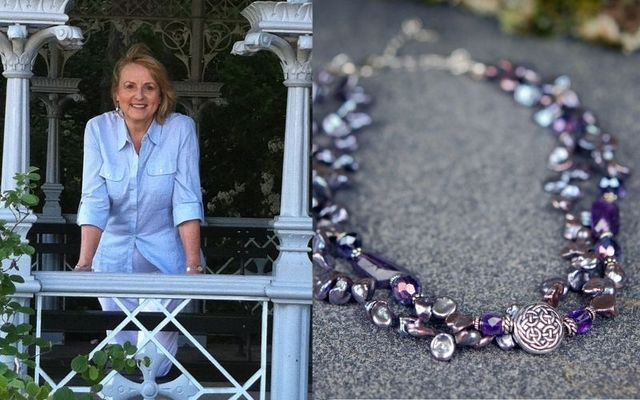 The Celtic Jewelry Studio designer and owner Cynthia Meyers