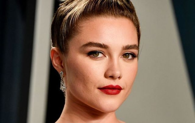 February 9, 2020: Florence Pugh attends the 2020 Vanity Fair Oscar Party hosted by Radhika Jones at Wallis Annenberg Center for the Performing Arts in Beverly Hills, California.
