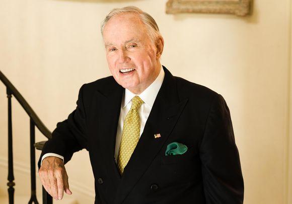 Brian Burns, leading Irish American philanthropist.