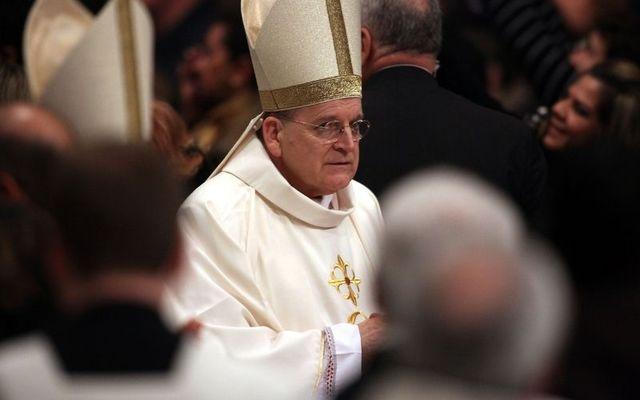 Cardinal Raymond Burke in 2010.