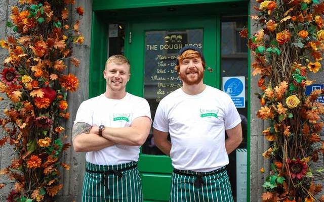 Ronan and Eugene Greaney, who run The Dough Bros in Galway City.