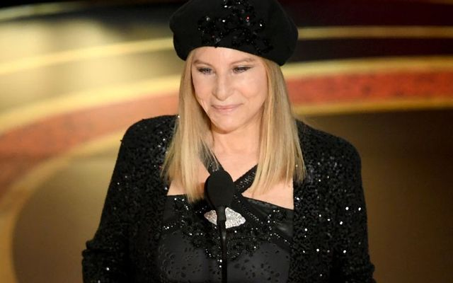 Barbra Streisand onstage at the  91st Annual Academy Awards at Dolby Theatre on February 24, 2019 in Hollywood, California.