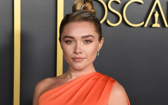 Florence Pugh attending the Oscars in January 2020