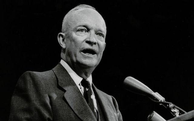 President Dwight D. Eisenhower in 1956.