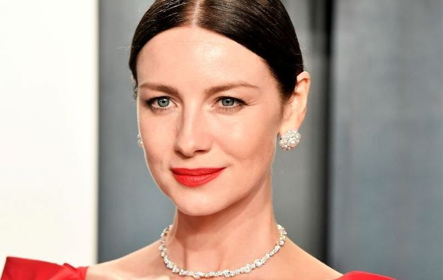 February 9, 2020: Caitríona Balfe attends the 2020 Vanity Fair Oscar Party hosted by Radhika Jones at Wallis Annenberg Center for the Performing Arts in Beverly Hills, California.