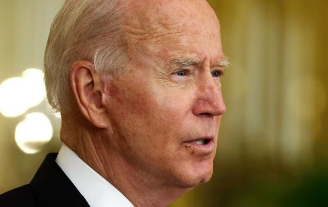 August 11, 2021: President Joe Biden speaks during an East Room event at the White House in Washington, DC.