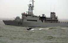Irish Navy monitoring Russian ship spotted off Ireland's west coast