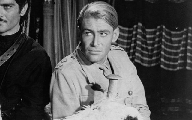 Actor Peter O\'Toole, star of Lawrence of Arabia, a legend of the screen and stage.