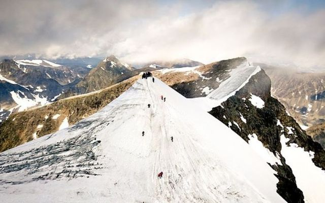 Kebnekaise is Sweden\'s highest mountain