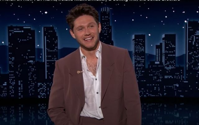 Irish singer-songwriter Niall Horan served as guest host on ABC\'s Jimmy Kimmel Live! on Tuesday night.