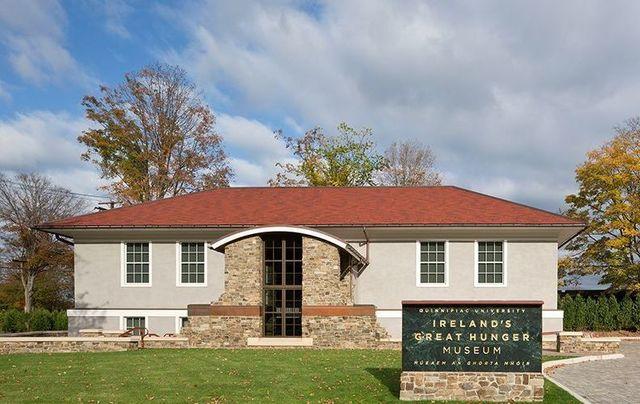 Ireland\'s Great Hunger Museum at Quinnipiac University in Connecticut.
