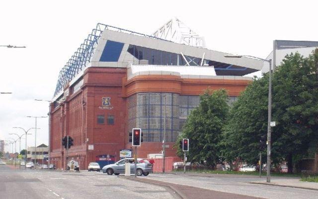 Ibrox Stadium hosted Rangers vs Celtic on Sunday.