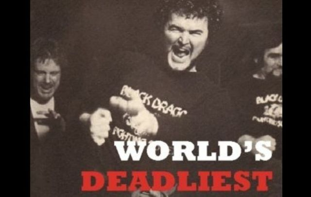 """The cover of \""""World\'s Deadliest Fighting Secrets\"""" by Count Dante."""