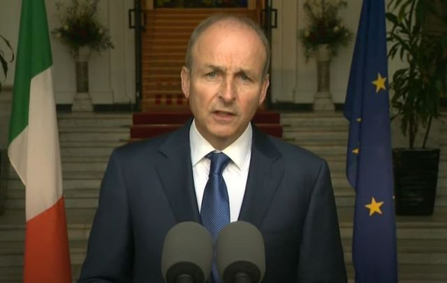 August 31, 2021: Taoiseach MicheálMartin delivers a live address outlining the plans to conclude the remaining public health restrictions.