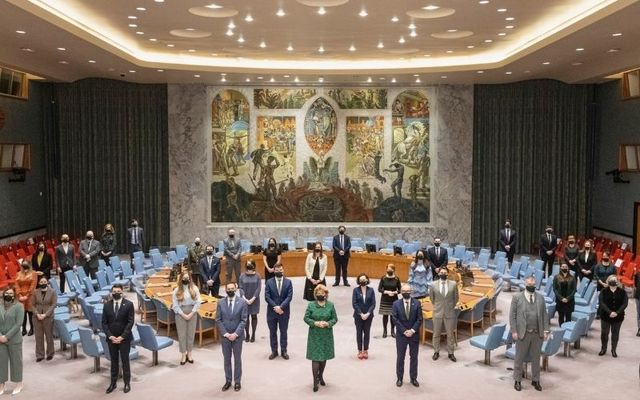 Ireland begins its presidency of the United Nations Security Council