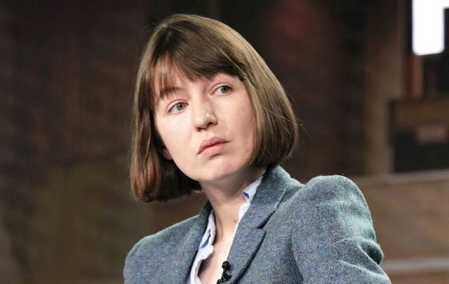 """Author of \""""Normal People\"""", Sally Rooney"""
