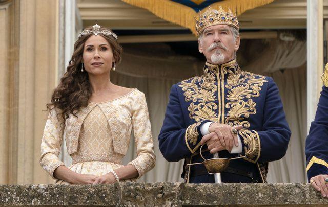 """Pierce Brosnan in \""""Cinderella\""""."""