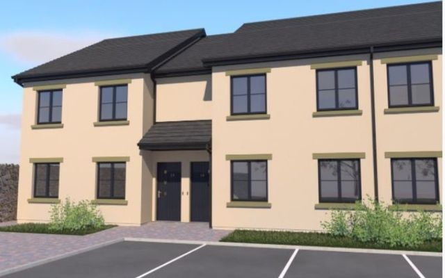 Plans for the house up for grabs in next April\'s raffle.