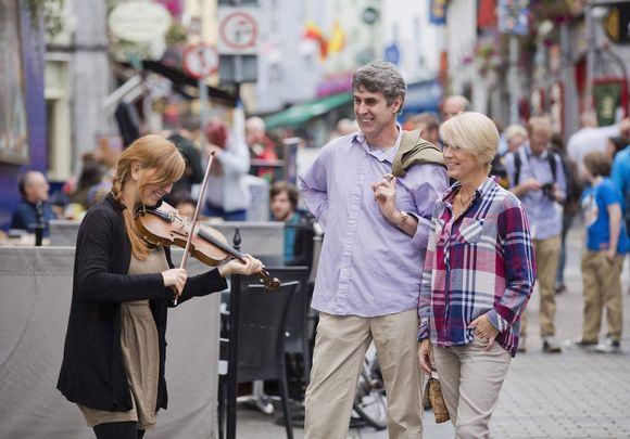 Galway City: One of the best places in Ireland to live.