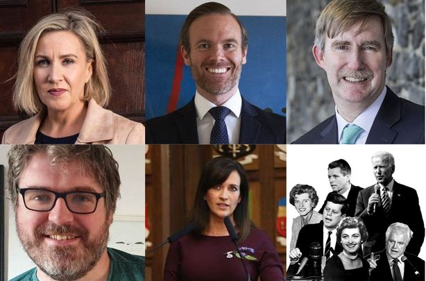 """The \""""Covering the Courts\"""" panelists from the 2021 Kennedy Summer School"""