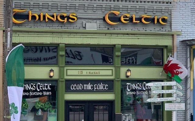 """Things Celtic is located in the heart of """"The Irish Capital of Texas\"""""""