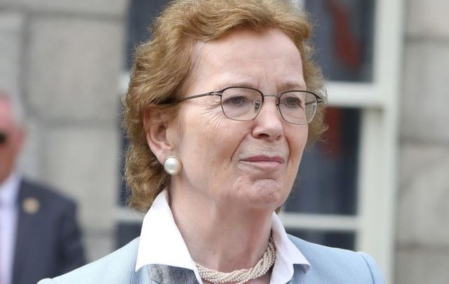 Mary Robinson, the former President of Ireland and the current chair of The Elders at the UN, pictured here in 2018.