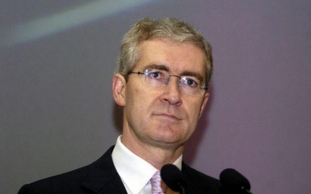 Hugh Brady as UCD President in 2004.