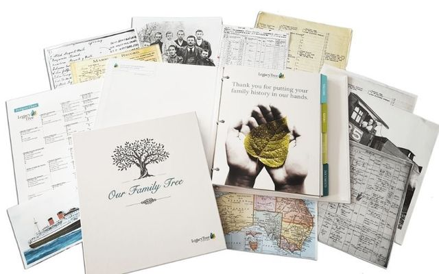 Legacy Tree Genealogists will create a full research project just for you.