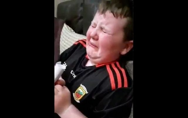 Cullen O\'Reilly got the shock of his life when he was gifted surprise tickets to the GAA All-Ireland final between Mayo and Tyrone.
